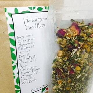 Herbal Steam Facial Brew  4oz