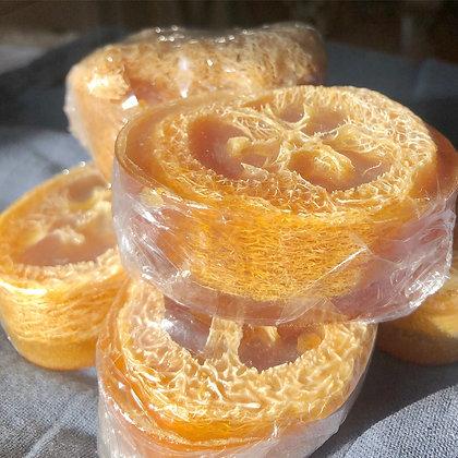 Turmeric Loofah Soap Bar