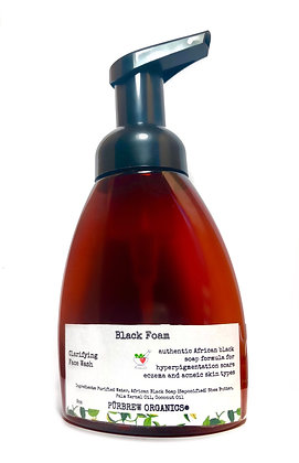 African Black Foaming Face Wash