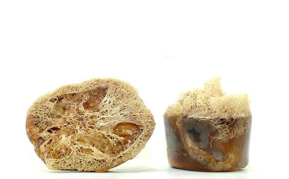 Winter Clove Sinus Relief Loofah Soap