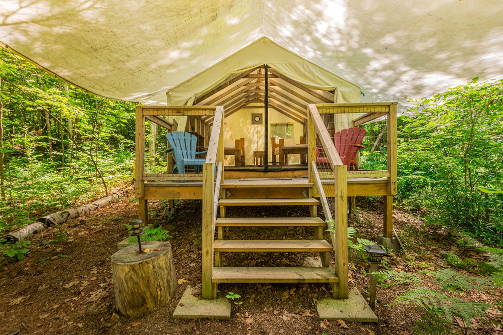 Birches Glamping Tent