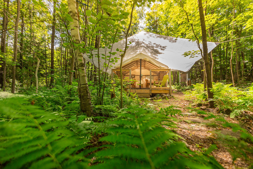 Maples Glamping Tent