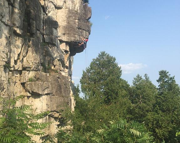 rock climbing instruction