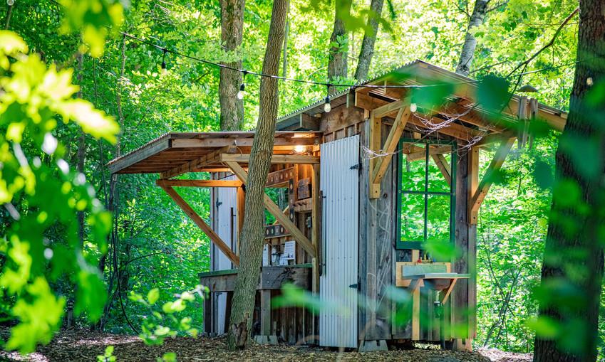 Cedar Propane on Demand Showers