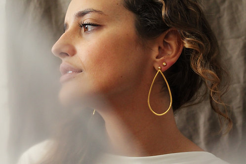NISA argolas grandes | big hoop earrings