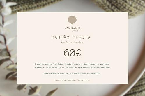 Cartão Oferta 60€
