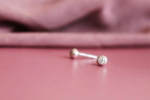NISA brincos pepita midi | midi dott earrings