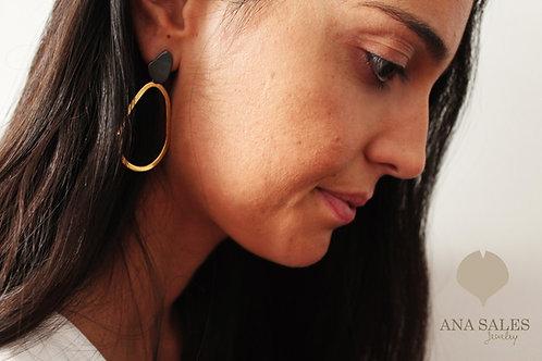 KHOB brincos pendentes | big earrings