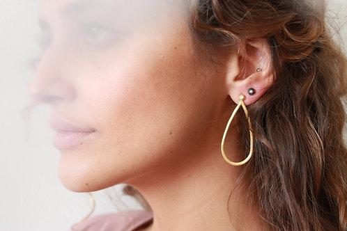 NISA argolas pequenas   small hoop earrings