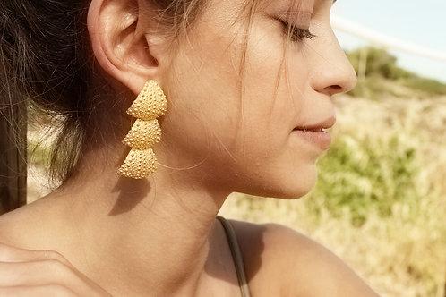 ANGA brincos compridos   long earrings