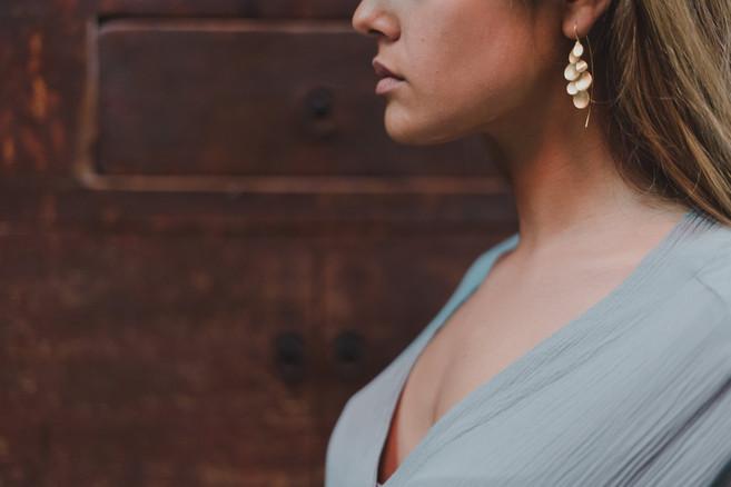 HIN brincos | earrings