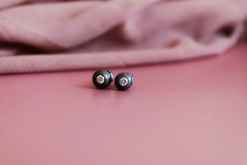 NISA brincos pepita grande | big dott earrings