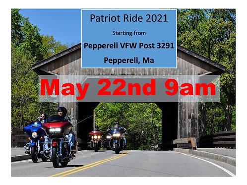 Patriot Ride Pre-Registration