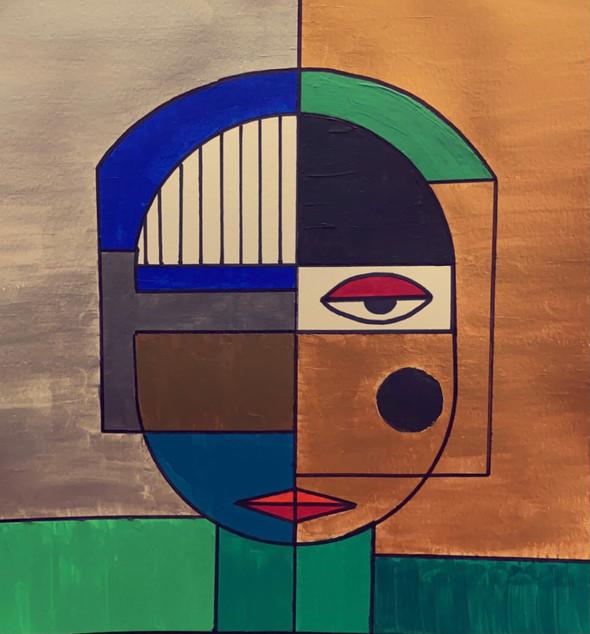 Self Portrait   Acrylic