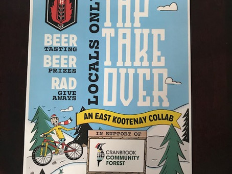 Fire Hall Kitchen and Tap Takeover Event for the Community Forest!