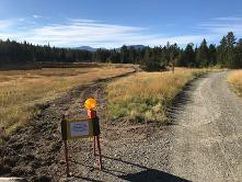 Meander Trail Closed for Trans Canada Trail Upgrade.