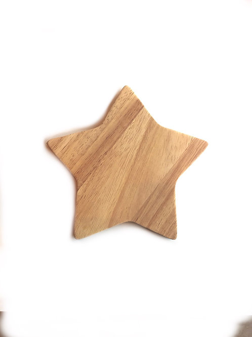 Handmade Star Shape Rubber Tree (1P) 18cmx18cm