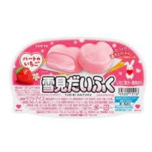 Mochi Ice Strawberry Heart Shape 94ml