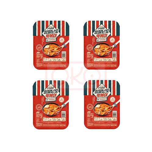 Buy 4 & Save Frozen Wheat Flour Cake and Extra Spicy Sauce (Topokki) 560g
