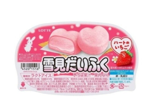 Mochi Ice Strawberry Heart Shape (94mlx10P)