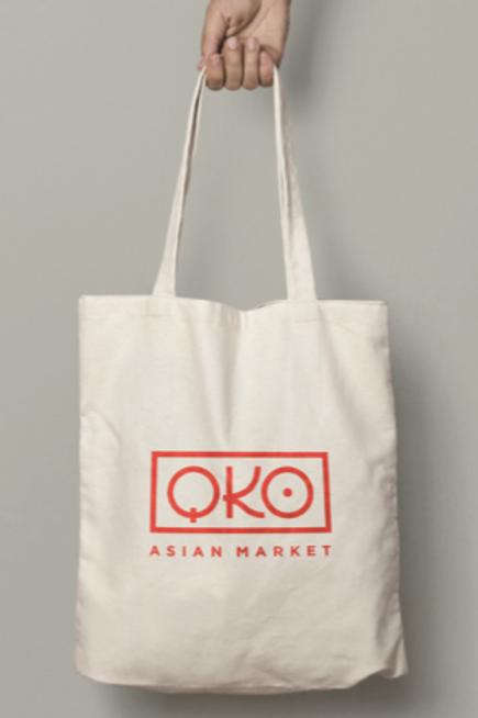 QKO Canvas Bag