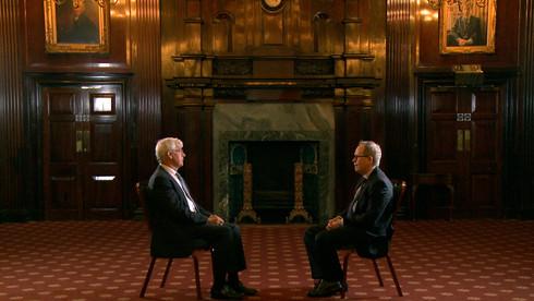 Julian Burnside and Tony Fisher at British Law Society