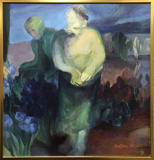Zahrada která nebolí, olej, 1984; ---.JP