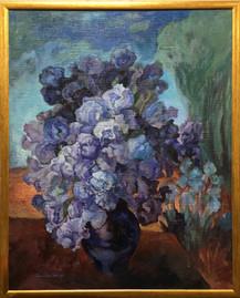 Modré kosatce, olej, 2010; 12.000,-.JPG