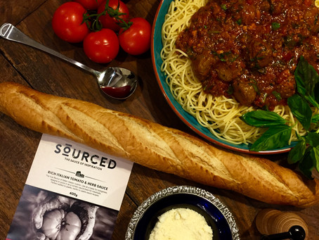 Sourced Tomato and Herb Meatballs