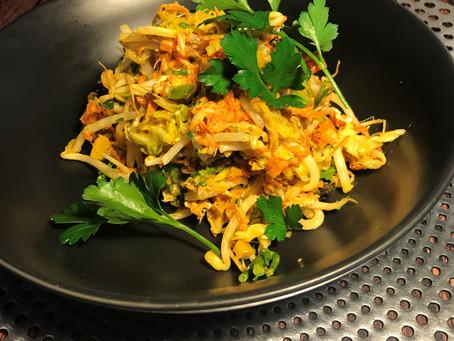 Spiced Cabbage warm Salad