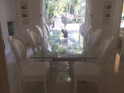 8 seat dining table