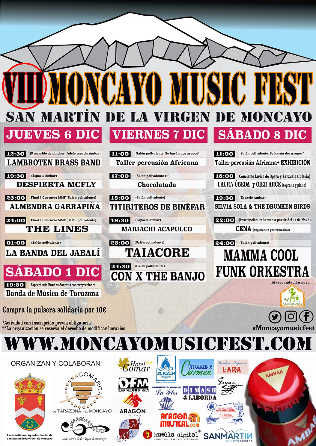 moncayo music fest 2018 CARTEL definiti