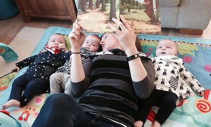 triplets, claire shouksmith