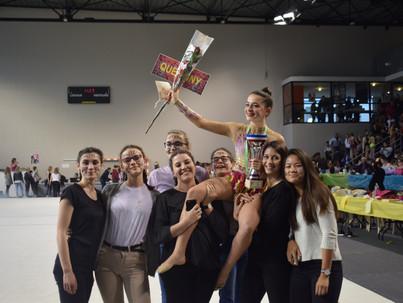 Le Championnat National de GR à Caudry. Retour en images