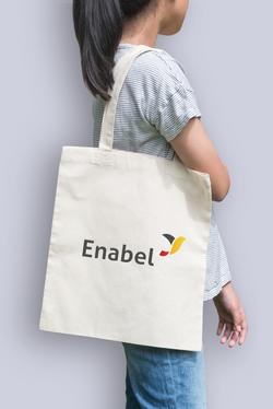 ENABEL Logo design and goods