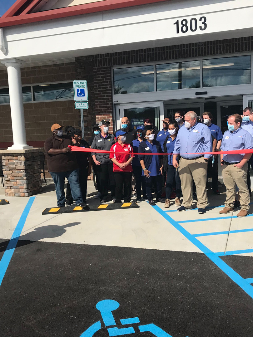 Ribbon Cutting - Georgetown Rd.