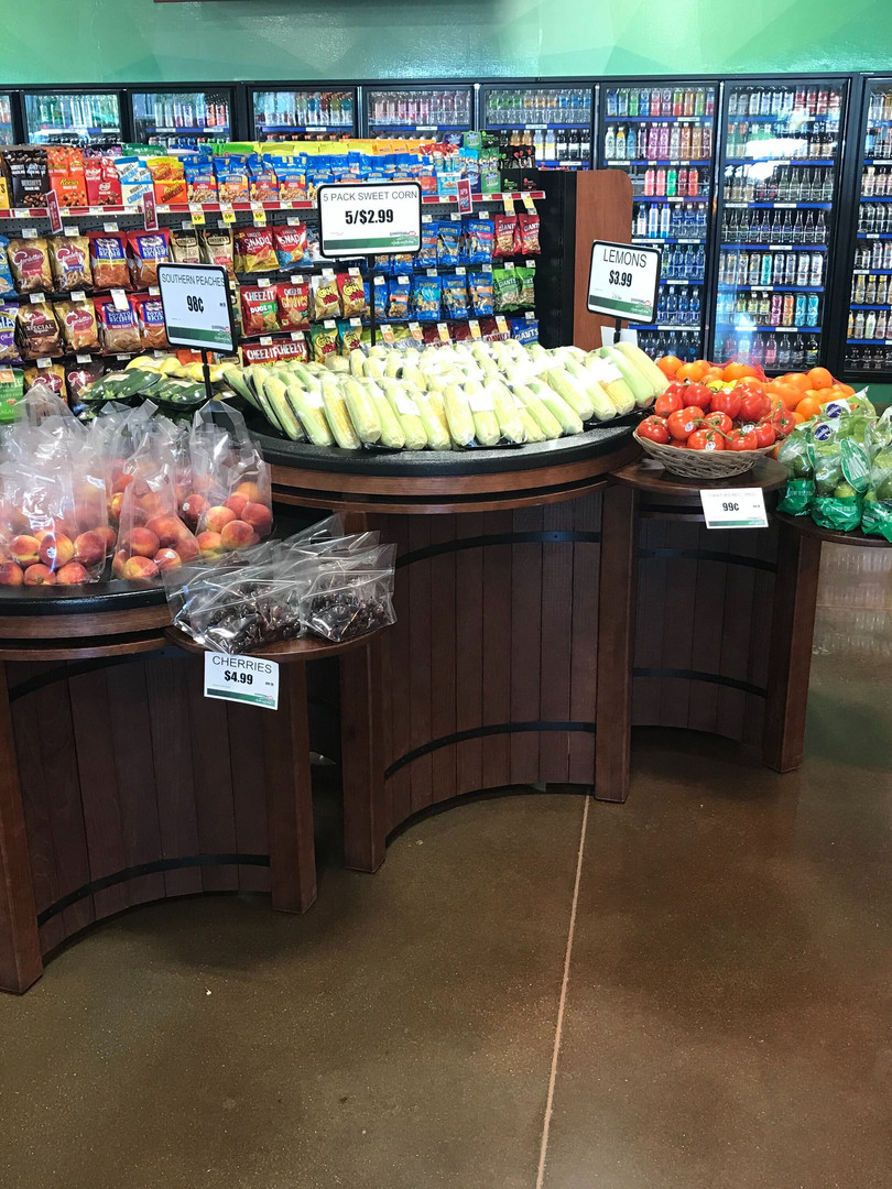 Fresh Produce Display