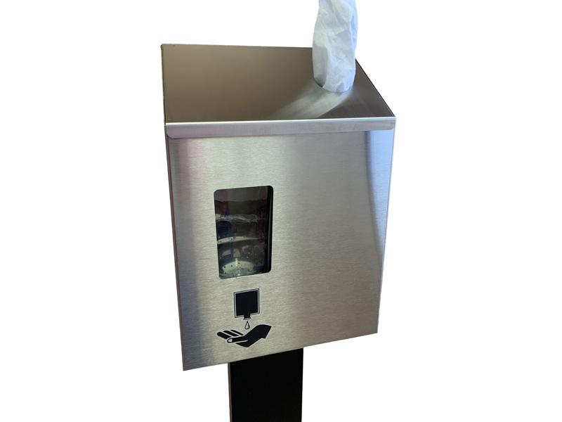 Vantage™ Mobile Hand Sanitizer & Disinfectant Station