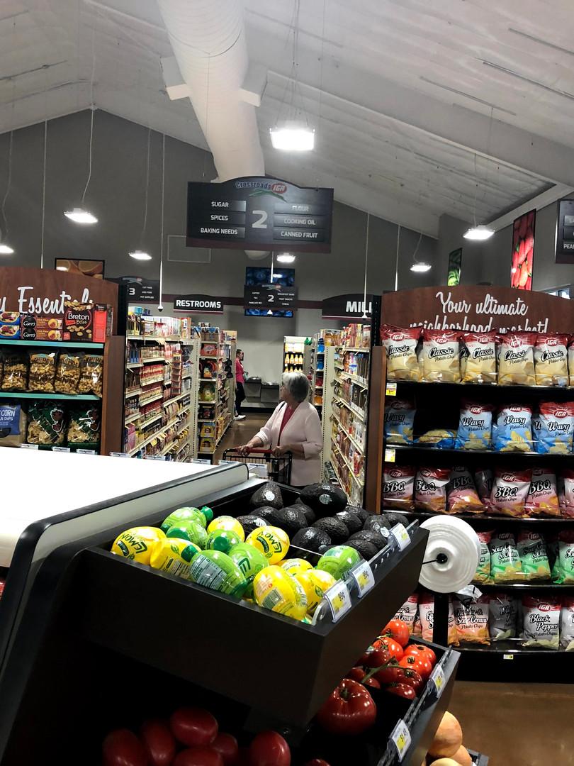 Center Store Aisle Photo