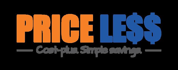 Price Less Blue Orange Logo.png