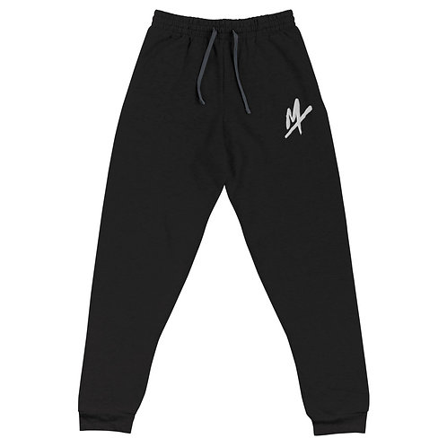 "Unisex ""Mpax Logo"" Embroidered Joggers"