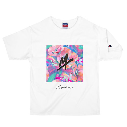 "Men's Champion ""Mpax"" T-Shirt (Floral)"