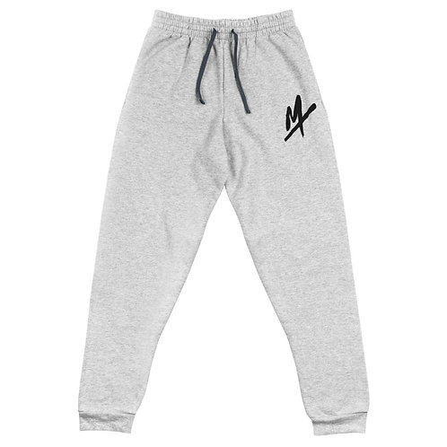 """Unisex """"Mpax Logo"""" Embroidered Joggers"""
