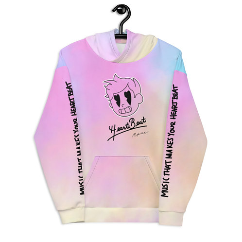"""Cotton Candy HeartBeat Kid"" Unisex Hoodie (Slim Fit)"