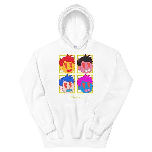 "Unisex ""HeartBeat"" Andy Warhol Style Hoodie"