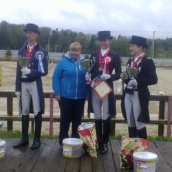 Соревнования в КСК Ромашково