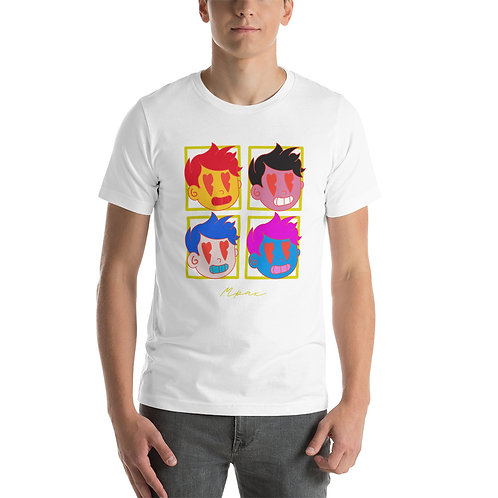 """""""HeartBeat"""" Andy Warhol Style T-Shirt (Athletic Fit)"""