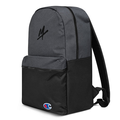"Embroidered ""Mpax"" Champion Backpack"