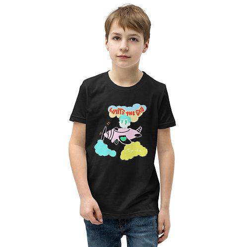 """Limits The Sky - HeartBeat Kid"" Youth Short Sleeve T-Shirt"