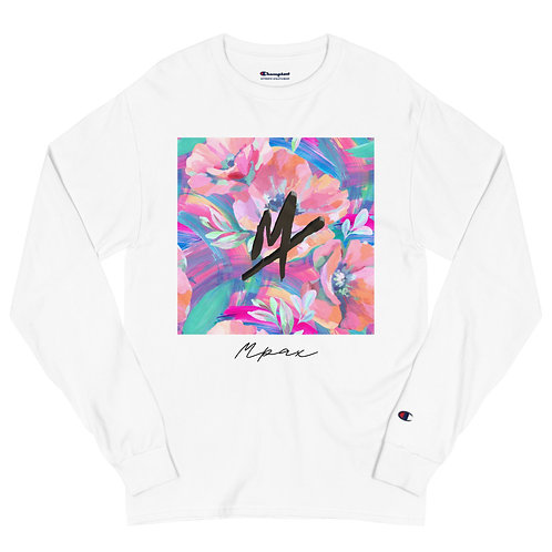 "Men's Champion ""Mpax"" Long Sleeve Shirt (Floral)"